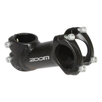 Potence VTT/route Zoom relevé 25° 31,8mm L. 100mm noir