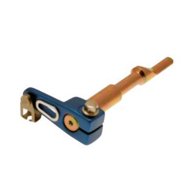 Poussoir de commande d'embrayage am6 anodisé bleu