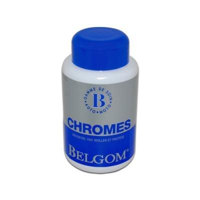Produits nettoyants et brillants Belgom 250ml chromes