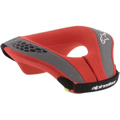 Protection cervicales enfant Alpinestars Sequence rouge/gris