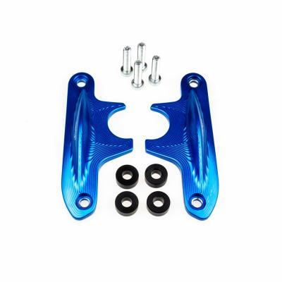 Protection de bras oscillant Lightech bleus pour Yamaha MT-10 16-17