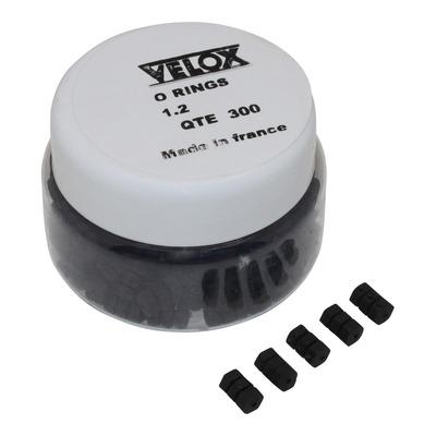 Protection de câbles de dérailleur Velox O Rings Ø1,2mm (boite de 300)