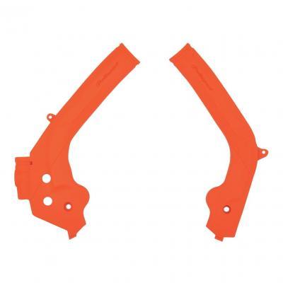 Protection de cadre Polisport KTM 125 SX 16-18 orange