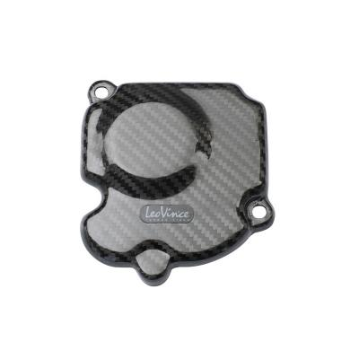 Protection de carter d'allumage Leovince carbone Z750