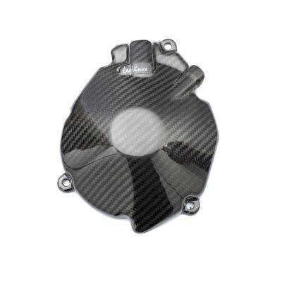 Protection de carter d'alternateur Leovince carbone GSX-R 1000 2009-12
