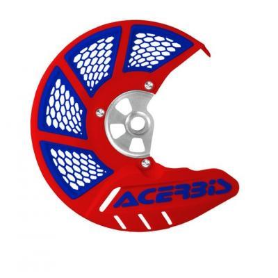 Protection de disque Acerbis X-Brake 2.0 ventilée rouge/bleu