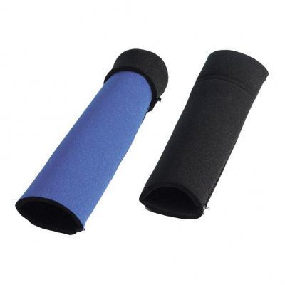 Protection de fourche noir/bleu trial