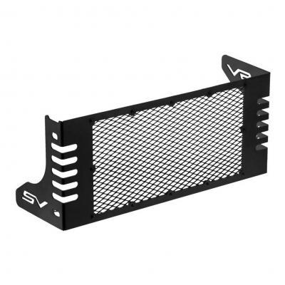 Protection de radiateur C. Racer noire grille noire pour Suzuki SV 650 2017