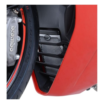 Protection de radiateur d'huile rouge R&G Racing Ducati Supersport 939 17-20