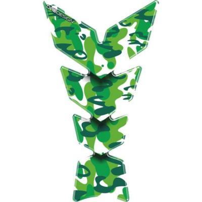 Protection de réservoir Camo vert
