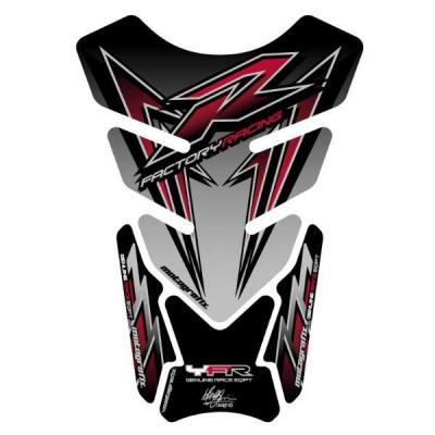 Protection de réservoir Motografix argent Yamaha 4 pièces