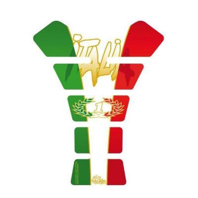Protection de réservoir Motografix Italia tricolore 1 pièce