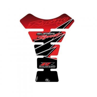 Protection de réservoir Motografix rouge Honda 1 pièce