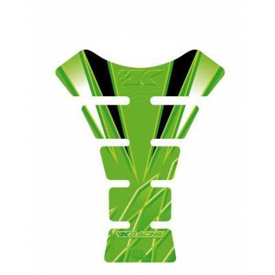 Protection de réservoir Motografix vert Kawasaki 1 pièce