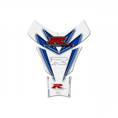 Protection de réservoir Motografix blanc/rouge/bleu Suzuki GSX-R 1 pièce