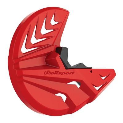 Protection disque avant + bas de fourche Polisport Honda CRF 450R 15-17 rouge