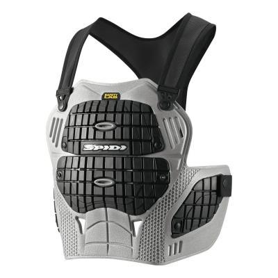 Protection torse Spidi THORAX WARRIOR gris/noir