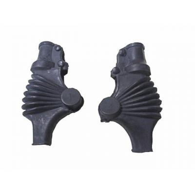 Protections de cocotte Bihr type Yamaha noires