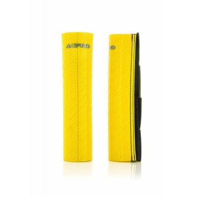 Protections de fourche Acerbis Ø47-48mm jaune