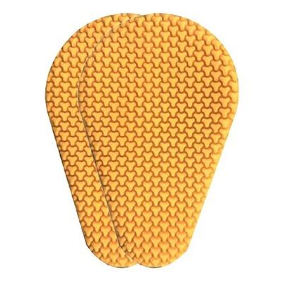 Protections de genoux (femme) Overlap Sas-Tec jaune Niv2