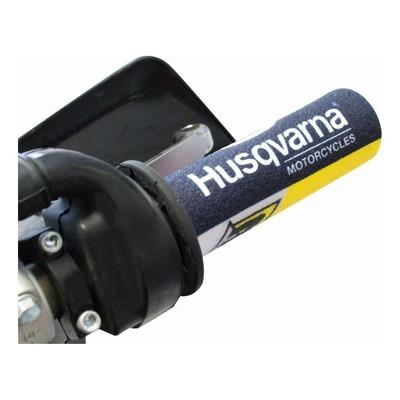 Protections de poignées Blackbird Racing Husqvarna bleu/jaune