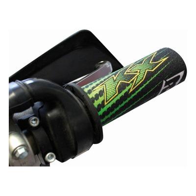 Protections de poignées Blackbird Racing KRT vert/noir