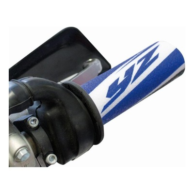 Protections de poignées Blackbird Racing Yamaha bleu/noir