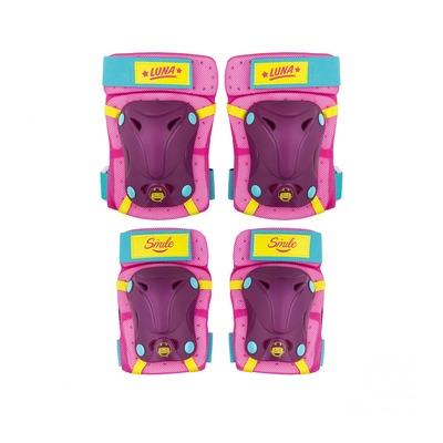 Protections genouillères et coudières Disney Soy Luna violet