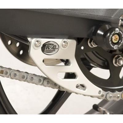 Protège couronne R&G Racing silver Triumph Street Triple 675 14-16