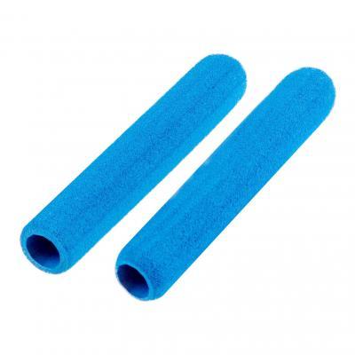 Protège-leviers mousse bleus