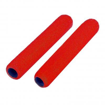 Protège-leviers mousse rouges