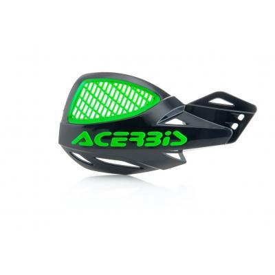 Protège-mains Acerbis MX Unico Vented noir/vert (paire)