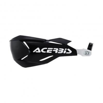 Protège-mains Acerbis X-Factory noir/blanc (paire)