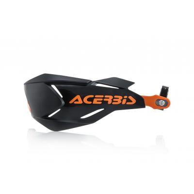 Protège-mains Acerbis X-Factory noir/orange (paire)