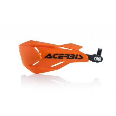 Protège-mains Acerbis X-Factory orange/noir (paire)