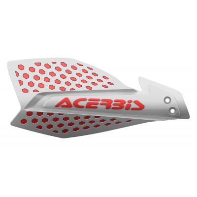 Protège-mains Acerbis X-Ultimate blanc/rouge (paire)