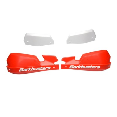 Protège-mains Barkbusters VPS rouges Honda CRF 450 R 02-20