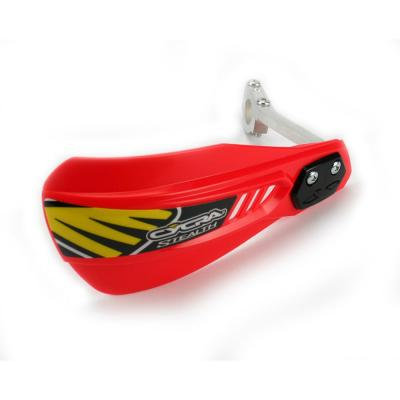 Protège-mains Cycra Stealth Racer rouge