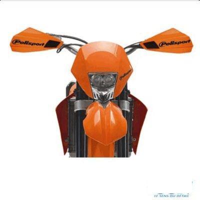 Protège-mains Polisport Bercy Orange (paire)