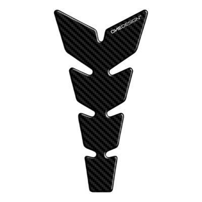 Protège réservoir Onedesign Soft Touch carbone noir