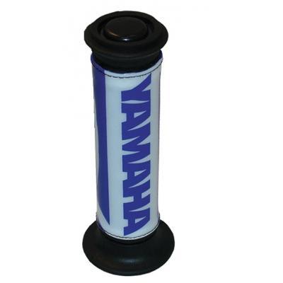 Protèges poignées Yamaha bleu / blanc