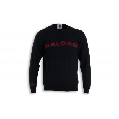 Pull Malossi griffe logo noir