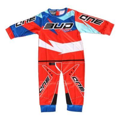 Pyjama 1 pièce Bud Racing orange