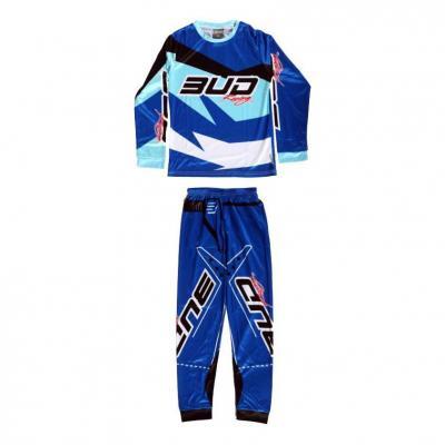 Pyjama 2 pièces Bud Racing 225 bleu
