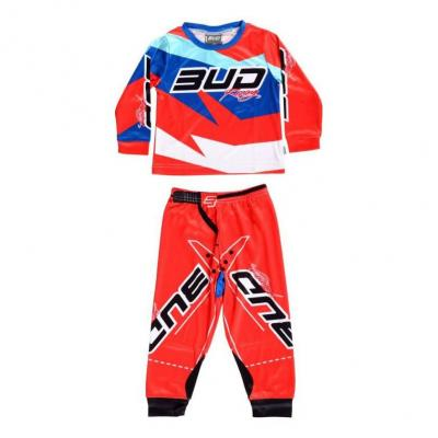Pyjama 2 pièces Bud Racing 225 orange