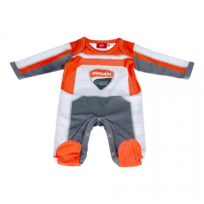 Pyjama bébé Ducati Racing gris/rouge