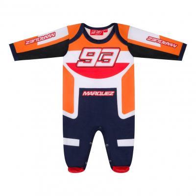 Pyjama Marc Marquez 93 Replica Racing orange/rouge/blanc