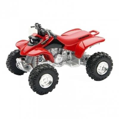 Quad miniature Honda TRX 400 red 1:32 NewRay rouge
