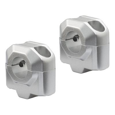 Rehausse de guidon SW Motech Ø 22 mm H=25 mm aluminium