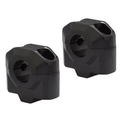 Rehausse de guidon SW Motech Ø 22 mm H=25 mm noir